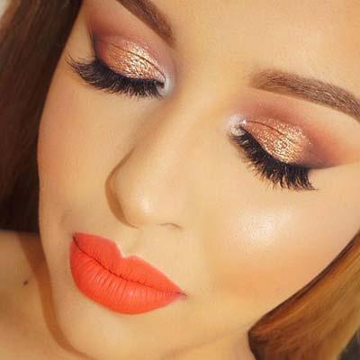 Vivid Matte Orange Lipstick