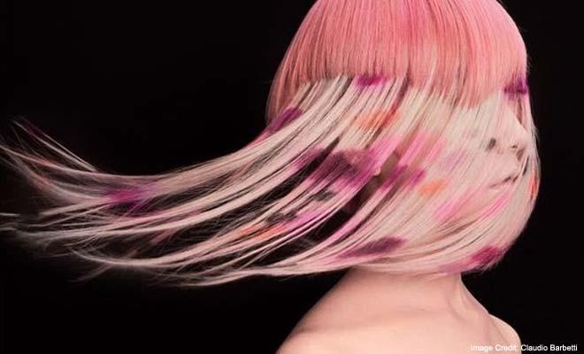 Hair Stenciling