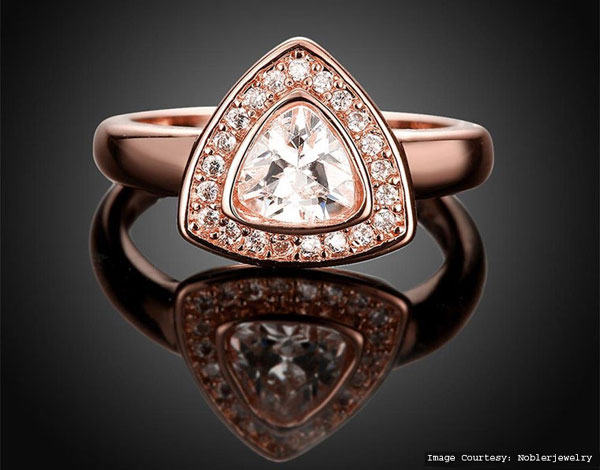 Rose Gold-Plated Ring