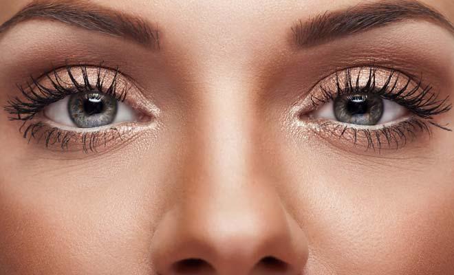 skin aging around your eyes