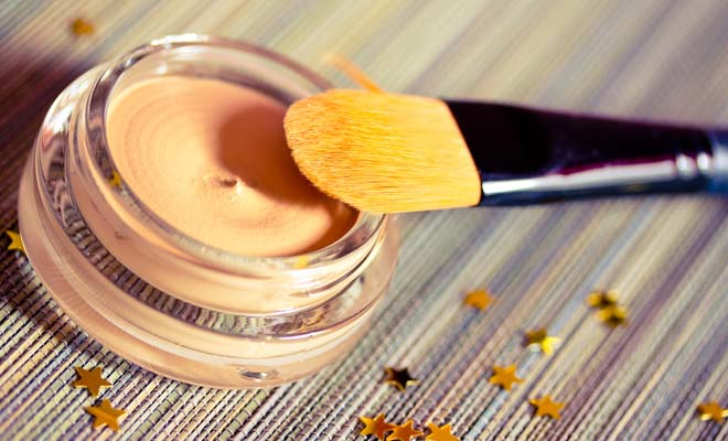 Use a Concealer brush
