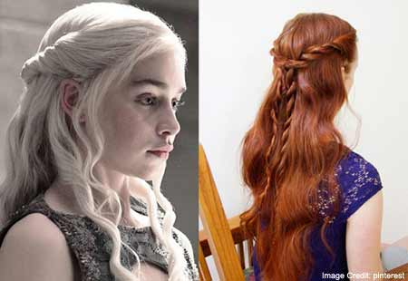 Daenerys Simple Two-Strand Braid
