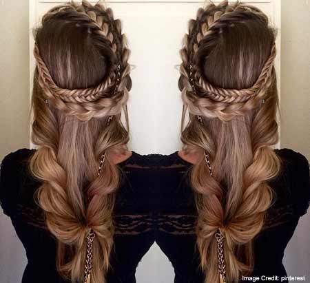 The Elegant French Rope Braid