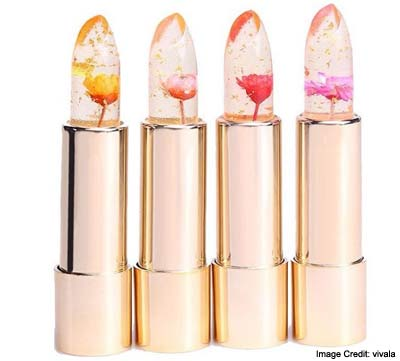 Flower Infused Lipsticks Variety