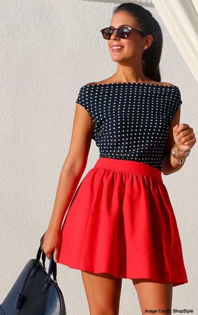 An Easy A Line Skirt