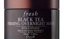 Fresh Black Tea Overnight Mask and Eye Concentrate Review