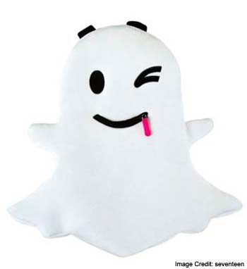 Snapchat Ghost Backpack