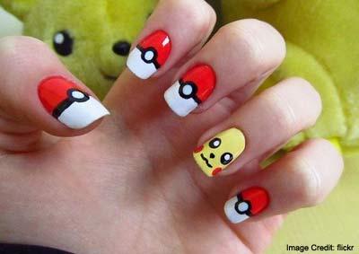 Pokémon Go Nail