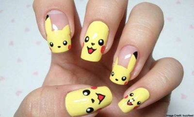 Pokémon Go characters Nail art & Style ideas to bring the Game to life