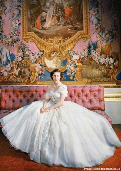 Princess Margarets Wedding Dress