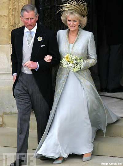 Royal Dress of Camilla Parker