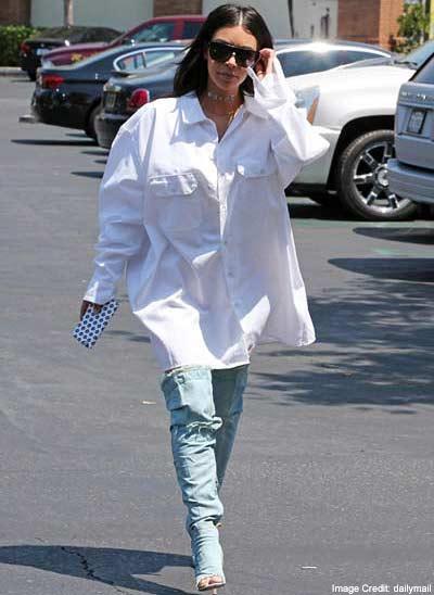 Kim Oversized Shirt