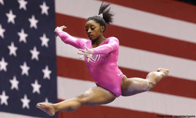 Olympic Champ Simone Biles