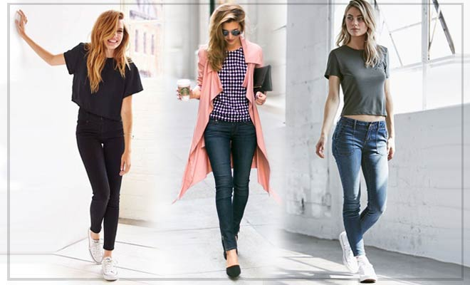 Skinny Jeans Look and Still Look Trendy