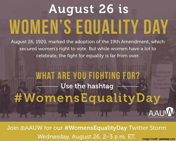 Womens Equality Day Message