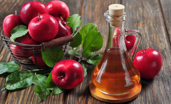 Wash Hair with Apple Cider Vinegar