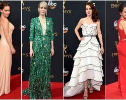 Best Dressed Celebrities on Emmys Red Carpet