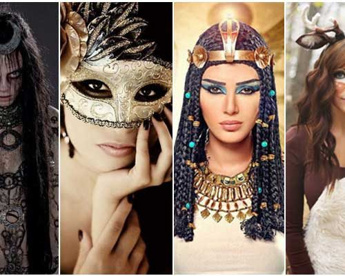 Halloween Costumes to Create Using Black Liquid Liner