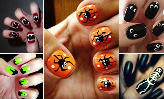 7 Easy DIY Halloween Nail Art Ideas to Pump Up Your Costumes