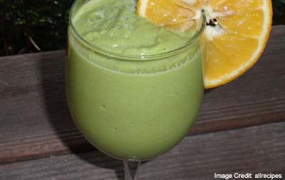 Lemon and Ginger Medley Smoothie