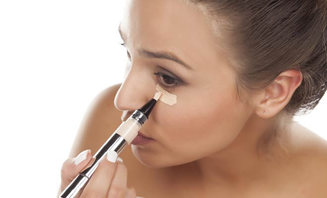 Reapply your concealer