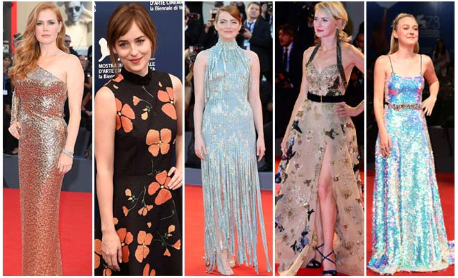Best Red Carpet Looks at Venice Film Festival