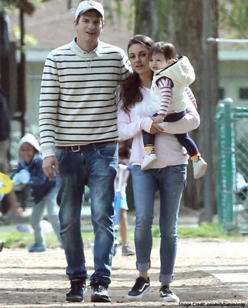 Ashton Mila Parenting