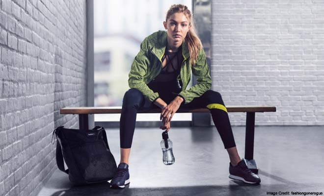 Gigi Hadid Knocking Everyone Out With Her Looks in a Reebok Campaign