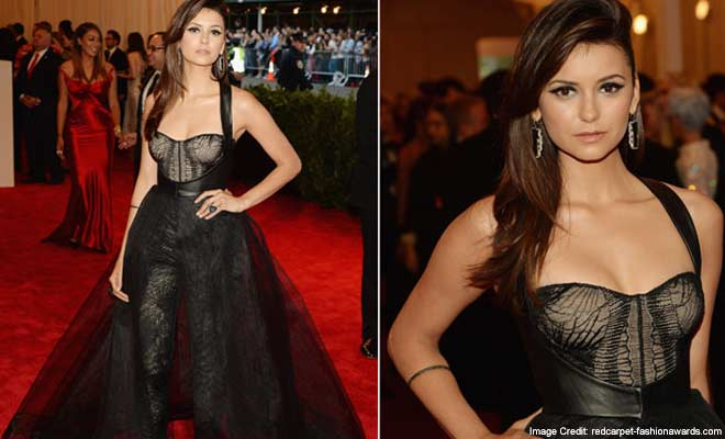 Nina Dobrev Nailed the Red carpet following the Vampire diaries