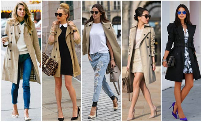 Trench Coats This Fall Season