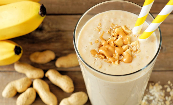 Butter and Banana Smoothie