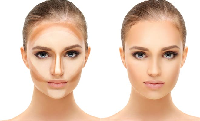Contour and Highlight for Natural Looking Makeup Look