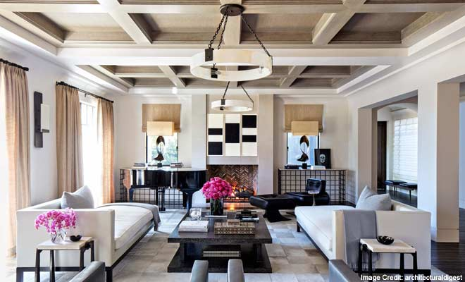 Khloe and Kourtney Kardashians Home Interiors