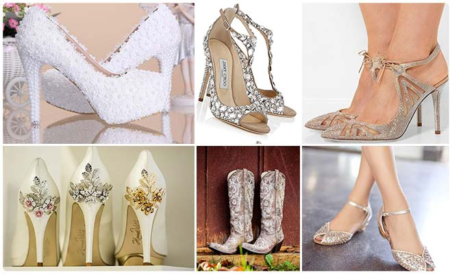 Bridal Footwear To Complete Your Bridal Look