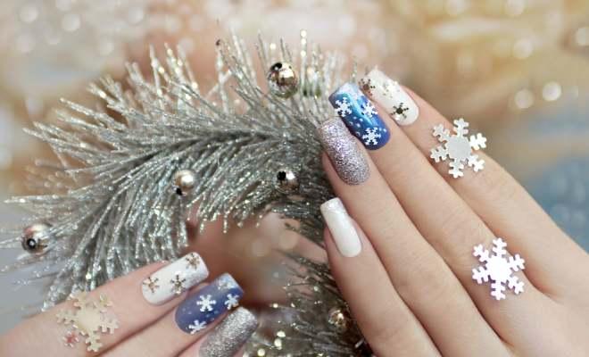Christmas Nail Art Inspirations