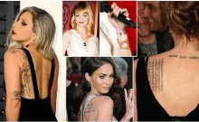 5 Must-Have Tattoos Inspiring Famous Celeb Tattoos and their Meanings