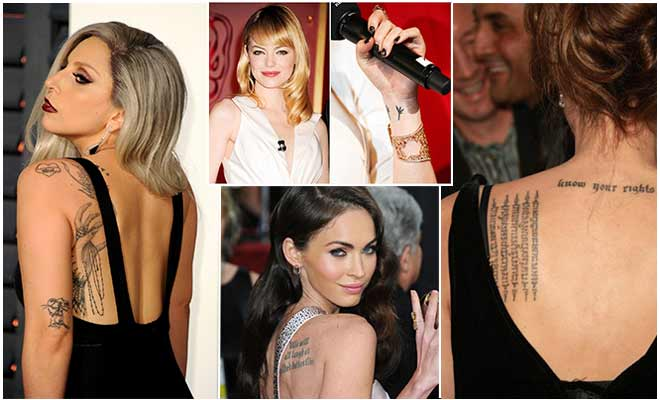 Celeb Tattoos and their Meanings
