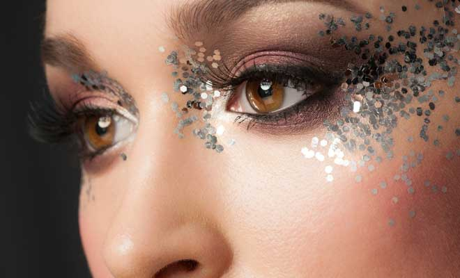 Glitter Eye Makeup This Holiday