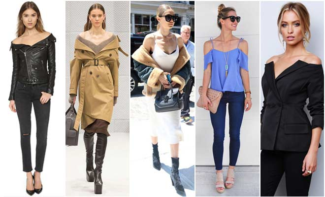 Off-the-Shoulder Tops this Winter season