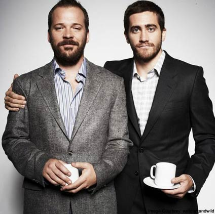 Jake Gylenhaal and Peter Sarsgaard