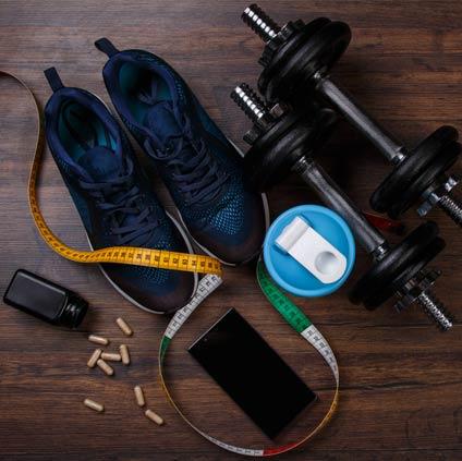 Locker Key To a Workout Gym