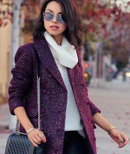 Purple Cardigan2