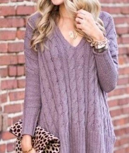 Purple Cardigan4