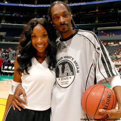 Snoop Dogg and Brandy