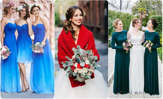 Tips to look stunning in winter weddings