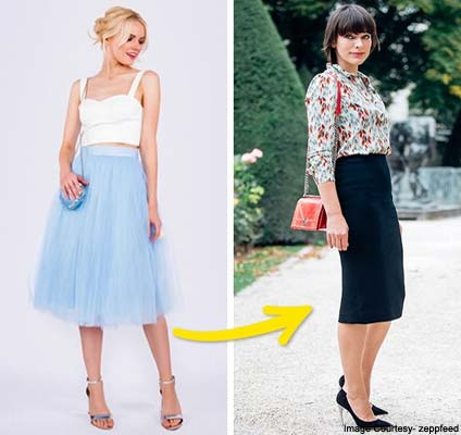 Tutu Skirts Will Be Replaced With Classic Skirts