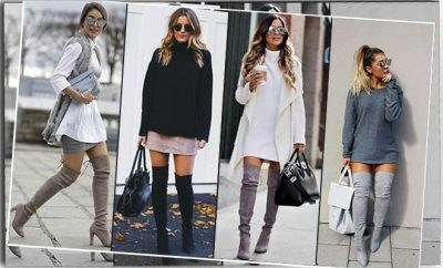 How To Wear Over The Knee Boots For Women With Big Calves?