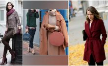4 Colors to Nail Winter Fashion: Green, Purple, Maroon, Peachy Pink