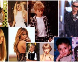 7 Famous Celebrities Who Look Drastically Different In Their Childhood