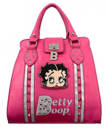 Betty Boop Studded Glam Bags